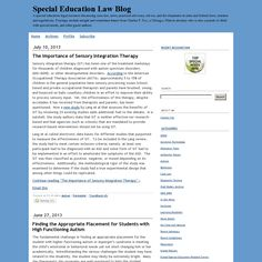 Special Education Law Blog: Autism