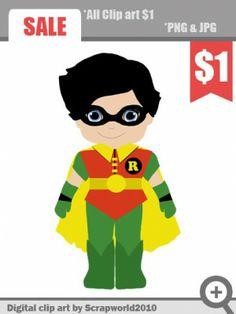 superhero boy clip art