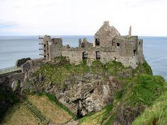 Dunluce Castle, Co. Antrim, Northern Ireland