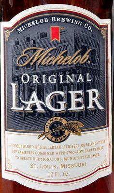 Michelob Original Lager Beer Missouri