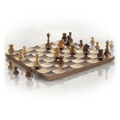 Wobble Chess Set by Umbra $200