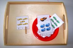 Counting Cars Count the number of cars on each card and place the clothes pin on the appropriate number.