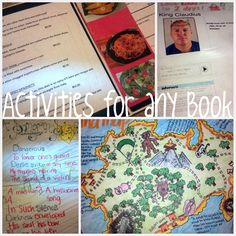 Alternatives to a book report