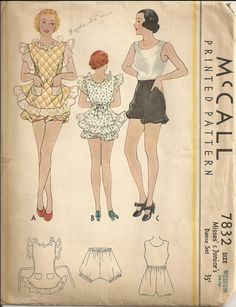 McCall 7832 - Vintage Sewing Patterns