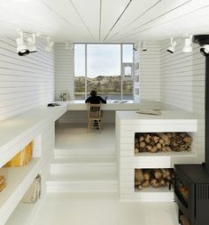 Fogo Island Studios by Todd Saunders