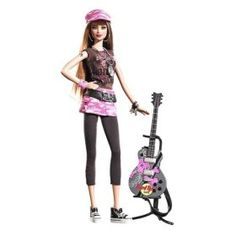 Barbie rocks!