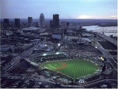 Louisville Bats baseball and the awesome stadium!