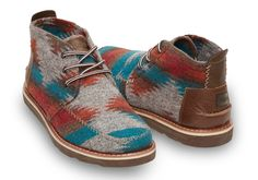 Chocolate Brown Wool Men's Chukka Boots | TOMS