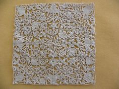Geometric needlelace, of the type often associated with mid 17th century England.