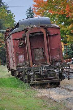 Abandoned train, Seattle