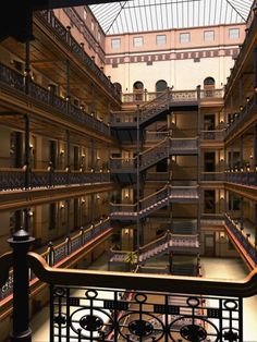 Another piece of LA's history is the Bradbury Building as seen in Bladerunner, 500 Days of Summer, and The Artist. The LA Film Fest is the perfect time to immerse yourself in some Hollywood history!: 304 S. Broadway, LA 90013