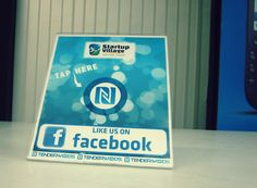 Facebook NFC like stand startupvillage.in