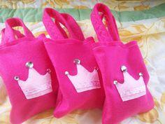 princess party favor bags #DisneyPrincessWMT