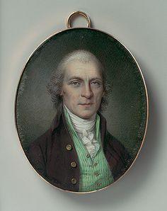 American Portrait Miniature, 18th century