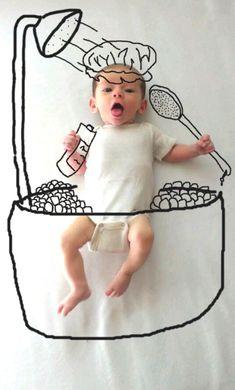draw, babi son, sons, funni babi, doodl, baby photos, new moms, babi portrait, babi photo