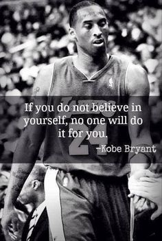 If you don't believe for yourself,  no one will do it for you.