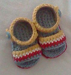 Instant Download - Crochet Pattern - Jute Sunshine Sandal