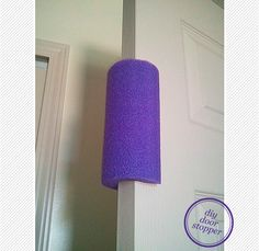 DIY Toddler Proof Door Stopper