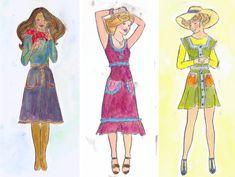 ART & INSPIRATION: Cheeky Ladies - Fashion Plates
