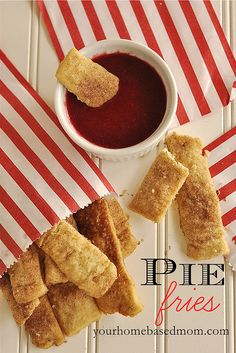 """Pie Fries"" ~  by yourhomebasedmom, via Flickr"