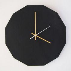 Chalkboard Tick Tock Clock (Large) - Clocks - Homeware