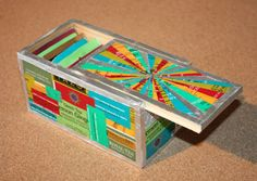 RePlayGround - recycling with a twist!: Ammmunition box tea organizer! I can use Kyle's empty 22 LR boxes for this kind of thing.