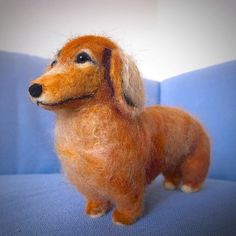 .@momos_gallery | I Made This For a Duchshund Friend , Needle Felting | Webstagram - the best Instagram viewer