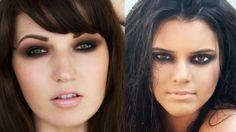 Kendall Jenner Makeup Tutorial on my blog!
