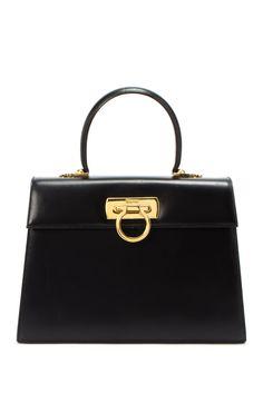 Vintage Ferragamo Leather Handbag