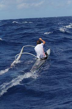 outrigg cano, surfski