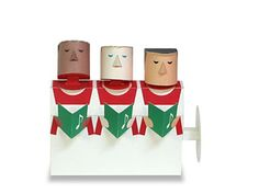 Paper Toy Coro de Navidad