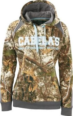 """This hoodie is great and super comfy!"" - customer review of Cabela's Women's ColorPhase™ Hoodie"