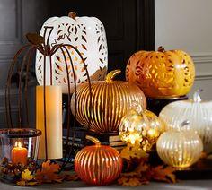 Create a pumpkin vignette this Halloween!