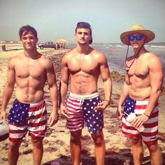If the pick up truck in the back on the beach doesn't say 'Murica I don't know what does