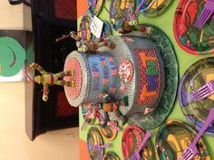 Ninja Turtles cake idea