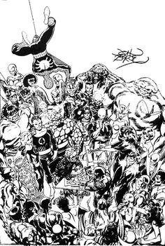 John Byrne - Marvel comics
