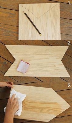 easy DIY cutting board - would be a pretty Christmas present! #gift #DIY #holiday