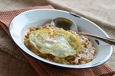 Savory Oatmeal from An Edible Mosaic