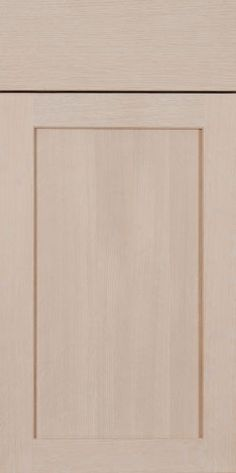 """Contemporary Wood Cabinet Door collection at Elias Woodwork - """"Cole"""" tenon, slab door style with flat panel - Select Quarter cut White Oak with Champagne stain slab door, door collect, cabinet doors, seri cabinet"""