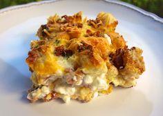 Cheesy Bacon Breakfast Casserole | Plain Chicken