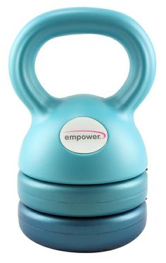 3-in-1 Weight Kettlebell: Get three different weights of kettlebells in one space-saving package