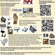 Surveillance Products For Outdoors: * Internet * Night Vision * Portable * Covert:   http://dpl-surveillance-equipment.blogspot.com/2013/06/outdoors-surveillance-products-internet.html  Choose From Birdhouses To Satellite Dishes. All Have The Ability To Allow For High-Quality Surveillance Of Your House, Office, Vacation Home, etc. Some Have Audio And Even Internet And Motion-Activation Capability Thus Giving You The Option Of Complete Remote Video And Audio Monitoring!