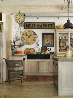 Country Prim Kitchen...love it all.