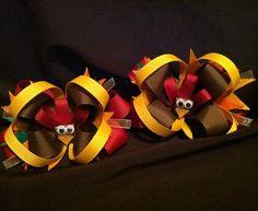 Thanksgiving Boutique Hair Bow