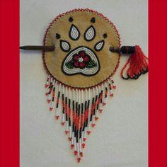 Athabascan beadwork by Brenda Mahan August 2014 custom order