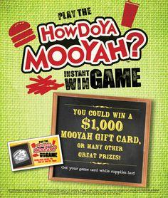 Mooyah coupon code
