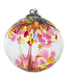 Another great find on #zulily! Pink 2'' Kitras Tree of Motherhood Ornament #zulilyfinds