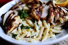 lemon basil pasta w/chicken