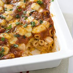 Baked Ziti Recipe - America's Test Kitchen from America´s Test Kitchen