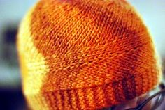 This easy knit hat pattern is perfect for winter and fall.  Make yours in your favorite color for your next project!